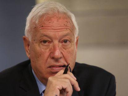 El exministro José Manuel García-Margallo.
