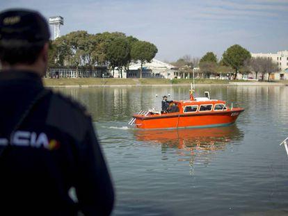 Nuevo rastreo en el Guadalquivir en busca del cuerpo de Marta del Castillo.