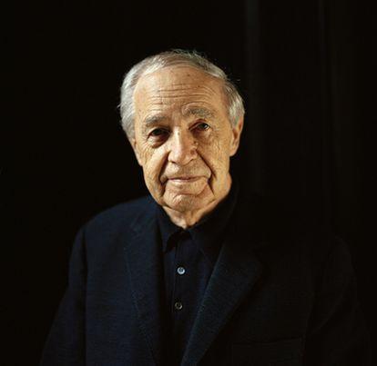El director de orquesta Pierre Boulez