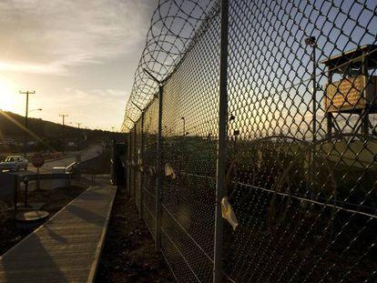 Campo de Detención Delta, en la prisión militar estadounidense de Guantánamo.