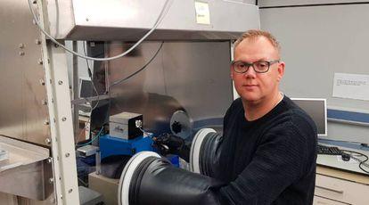 El neerlandés Henk Bolink, del Instituto de Ciencia Molecular de la Universidad de Valencia.