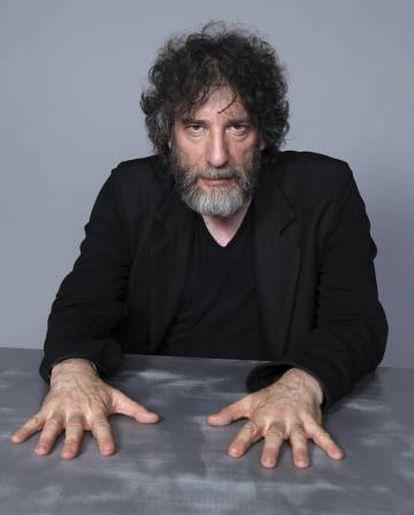 Neil Gaiman, en la Comic-Con de 2018.