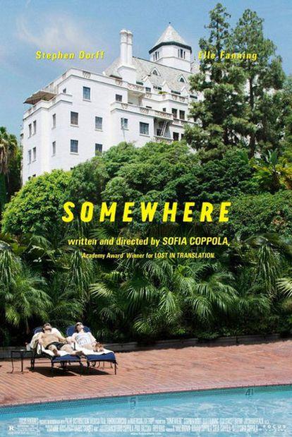 Fragmento del cartel de la película 'Somewhere' de Sofía Coppola
