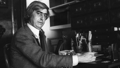 Juan Benet en 1977.