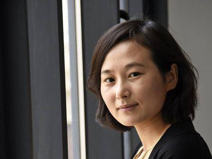 La directora Lina Wang, en Valencia.