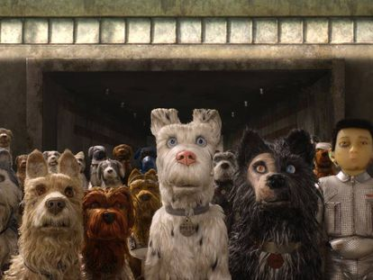 Imagen de 'Isla de perros'.