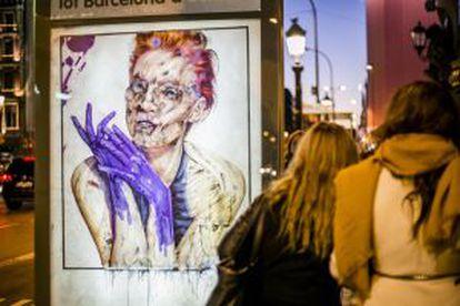 Una de las acciones de Vermibus en la publicidad urbana.