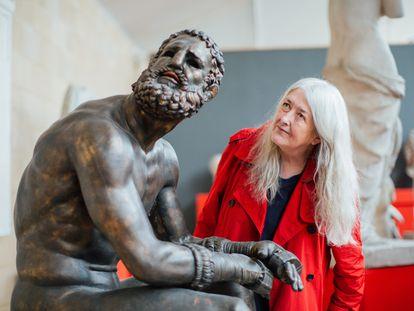 Mary Beard, en el documental 'El desnudo en el arte'.