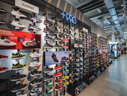 La cadena de material deportivo Sprinter tiene 180 tiendas en España.