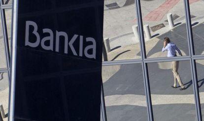 Los edificios de Bankia en Madrid.