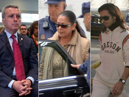 Ortega Cano, Isabel Pantoja y Farruquito.