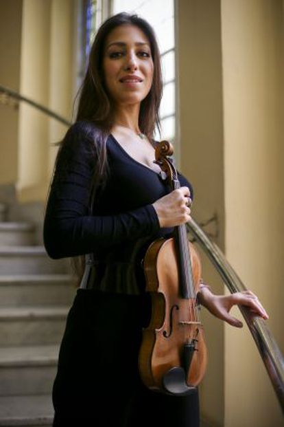 Leticia Muñoz Moreno, violinista española.
