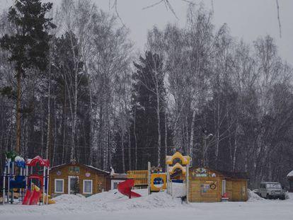 Los científicos se refugiaban en este sorprendente bosque de Siberia