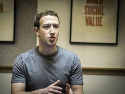 EL PAÍS asiste a un encuentro con Mark Zuckerberg con motivo del 13 aniversario de la red social