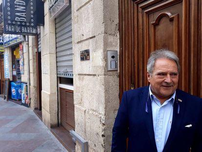 El expresidente de la Diputación de Valencia, Alfonso Rus, este jueves en Alicante.