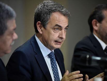 El expresidente del Gobierno español José Luis Rodríguez Zapatero, en una imagen de archivo.