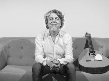 El guitarrista madrileño Josete Ordoñez presenta su trabajo en solitario, 'Transeúntes'. JUAN CAÑAMERO