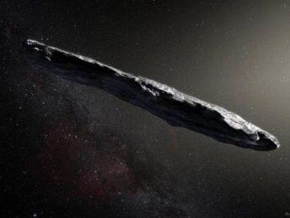 Oumuamua, el primer objeto interestelar descubierto mientras visitaba el sistema solar, no es la única novedad que se relaciona con alienígenas inteligentes