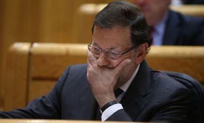 DVD 701 (25-11-14)   Pleno del Senado. Sesi—n de control al Gobierno. Rajoy.  Foto: Uly Mart'n.