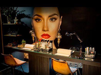 Imagen del interior de un centro de Be Beauty en una imagen promocional.