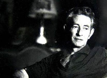 Retrato de Dionisio Ridruejo.