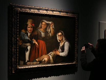La Virgen con el Niño' en la exposición 'Murillo IV Centenario'.