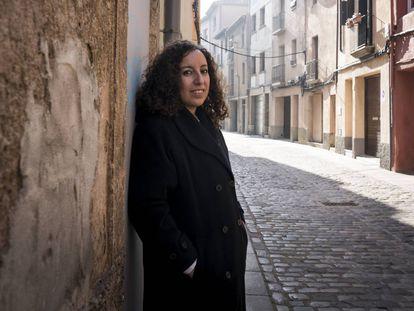Un paseo con Najat El Hachmi, por las calles de Vic
