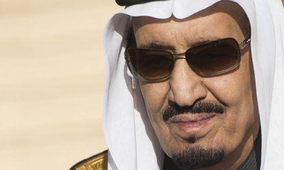 El rey de Arabia Saudí, Salman Bin Abdelaziz al Saud, este martes.