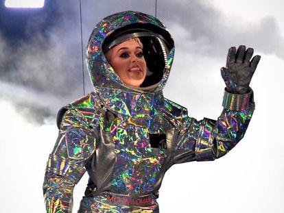 Katy Perry en la gala de los MTV VMAs 2017, en California (EE UU). En vídeo, los ganadores.