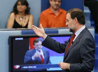 Mariano Rajoy, en un momento del programa.