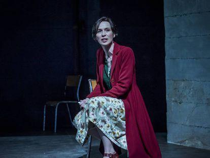 Ariadna Gil, en la obra El dolor, de Marguerite Duras, dirigida por Lurdes Barba.