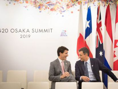 El presidente español, Pedro Sánchez. asegura que  no se da un paso atrás  porque hay 19 países de acuerdo, incluido Brasil, y solo EEUU se queda fuera