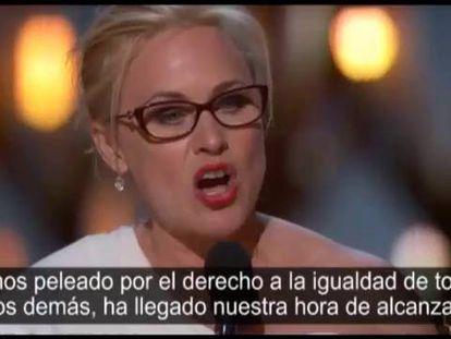 """Patricia Arquette: """"Es el momento de tener el mismo salario"""""""