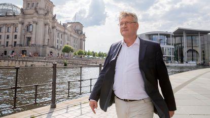 Jörg Meuthen, copresidente de Alternativa para Alemania (AfD), en Berlín el pasado julio