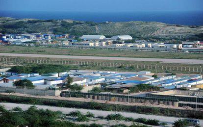 La base de la Misión para Somalia de la Unión Africana, en Mogadiscio.