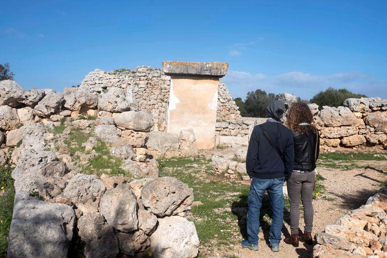 El poblado Talayótico de Trepucó en el municipio de Mahón (Menorca).