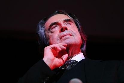 Riccardo Muti, en un concierto en Roma en 2015.