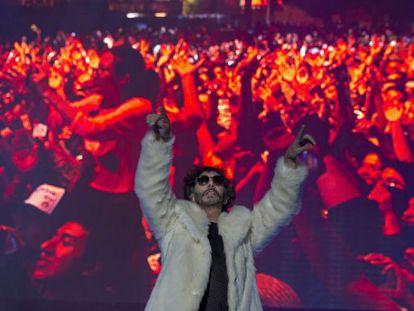 Fito Páez, durante el Vive Latino 2014.