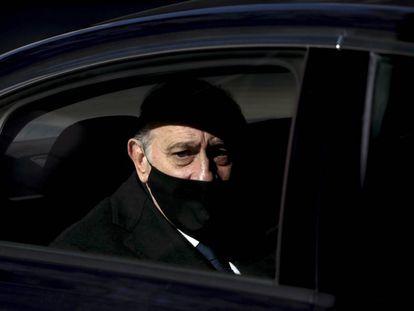 El exministro del Interior Jorge Fernández Díaz llega a la Audiencia Nacional para declarar el pasado 13 de noviembre