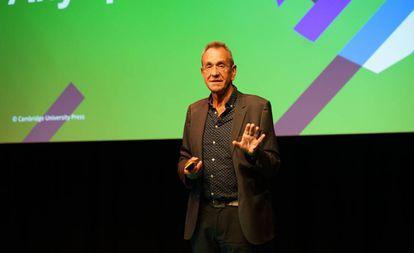Scott Thornbury, durante la conferencia IATEFL.