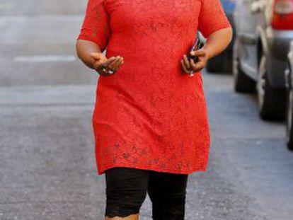 Nanah Kamara, colaboradora del consulado de Sierra Leona en Madrid, llegó a España en 2010.