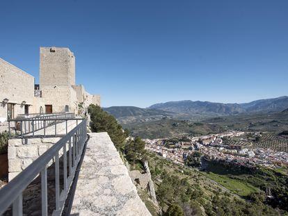 El parador de Jaén, en el cerro de Santa Catalina.