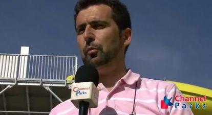 Mariano Valverde, en una captura de un vídeo de Channel Parks.