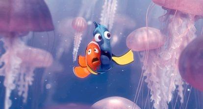 Un fotograma de la película de Disney 'Buscando a Nemo'.