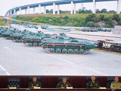 Moscú despliega cerca de 300.000 uniformados, más de mil aviones, helicópteros, aparatos volantes no tripulados, hasta 80 buques y 36.000 tanques