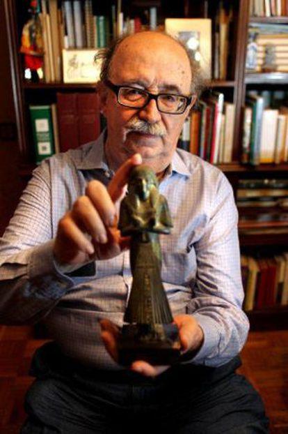 El egiptólogo Josep Padró.