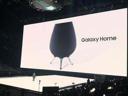 Presentación del Samsung Galaxy Home en Nueva York.