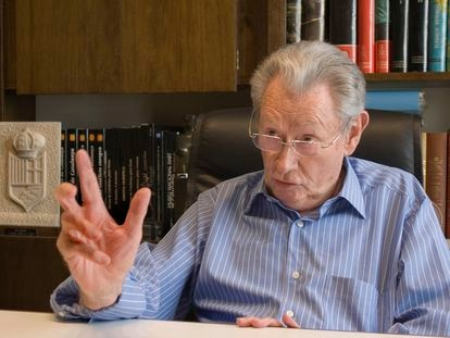Josep Lluís Vilaseca, durante una entrevista en 2007.