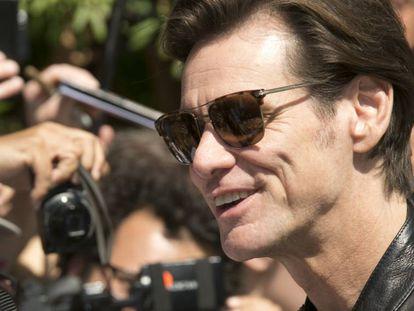 El actor Jim Carrey el pasado 5 de septiembre en el Festival de Cinde de Venecia.