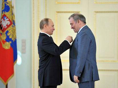 Putin, Guerguiev y los nuevos héroes del trabajo de Rusia